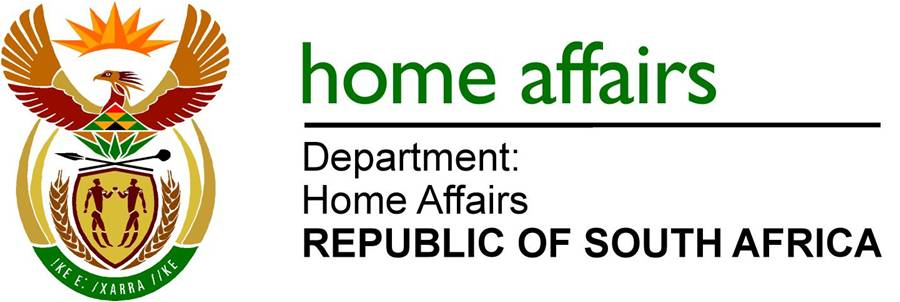 Home Affairs Department Of South Africa